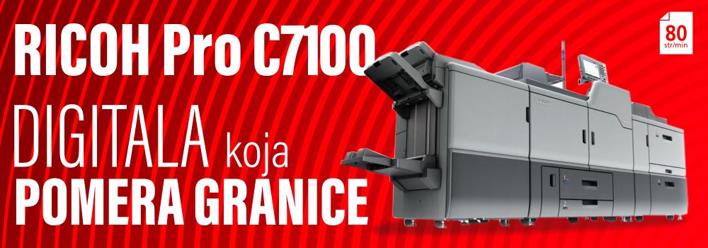produkcijski sistem pro c7100